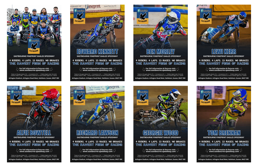 Eastbourne Eagles Poster Downloads