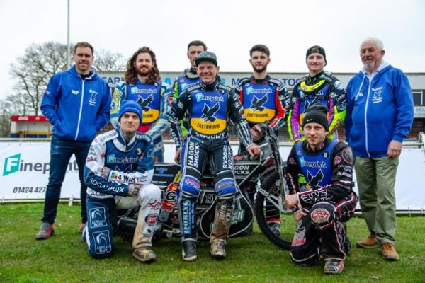 Eastbourne Eagles_2019_The team and managers