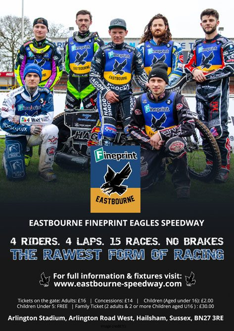 Eastbourne Fineprint Eagles Speedway