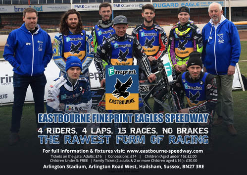 Eastbourne Fineprint Eagles Speedway Team