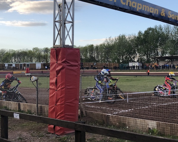Eastbourne Eagles riding at Leicester