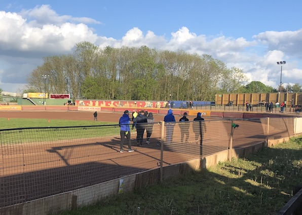 Eastbourne Eagles on track walk