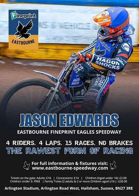 Jason Edwards Eastbourne Fineprint Eagles Speedway