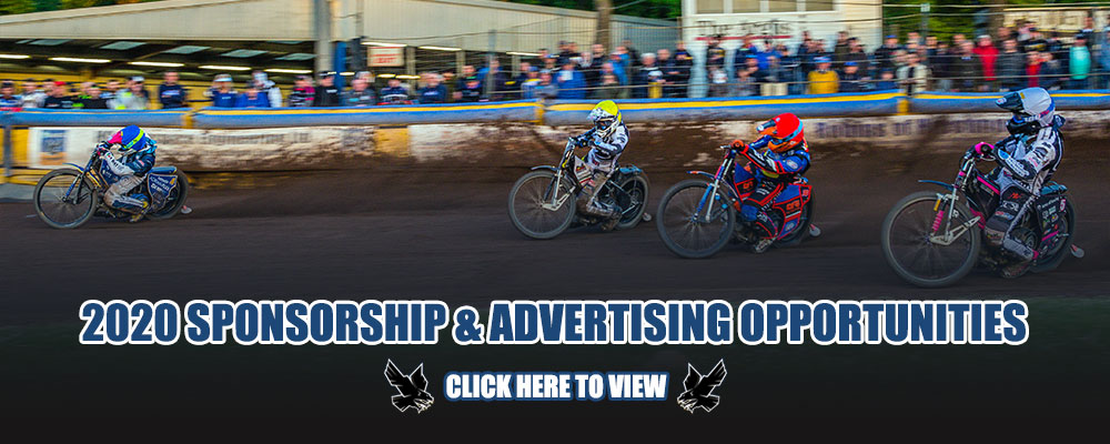 Eastbourne Eagles Advertising and Sponsorship 2020 Season