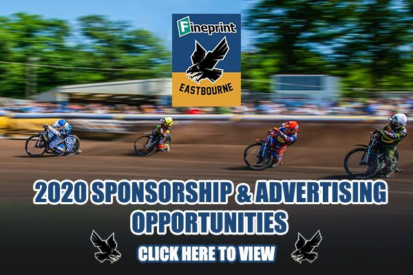Eastbourne Eagles Sponsorship and Advertising 2020 Season