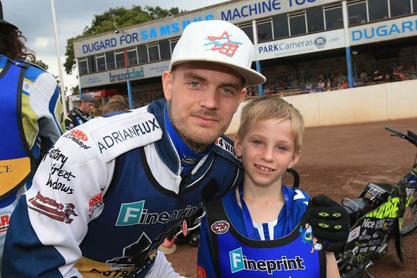 Eastbourne Eagles Speedway Mascot