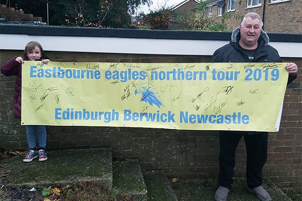 Eastbourne-Eagles-Northern-Tour-Memento
