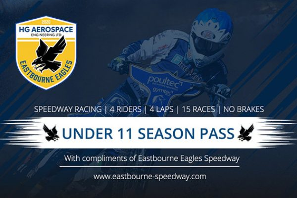 Eastbourne HG Aerospace Eagles Free Junior Season Pass