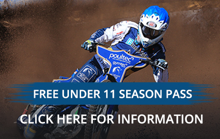 Eastbourne Speedway Free Season Pass Under 11s