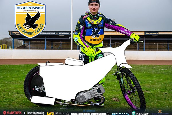 Eastbourne-HG-Aerospace-Eagles Speedway_Community-Bike-Cover-Poster-competition