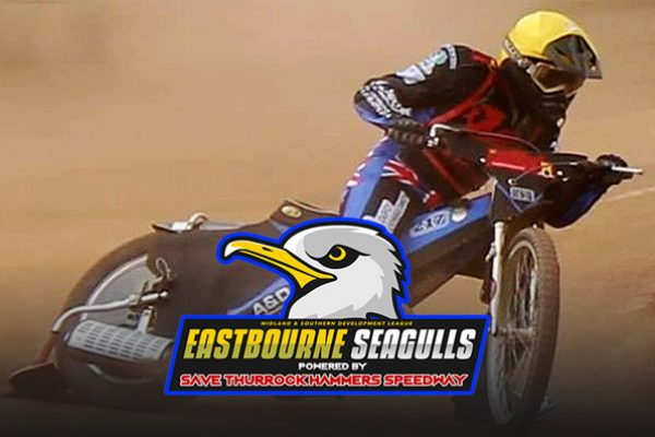 James Jessop Eastbourne Seagulls Powered by Save Thurrock Hammers Speedway_MSDL