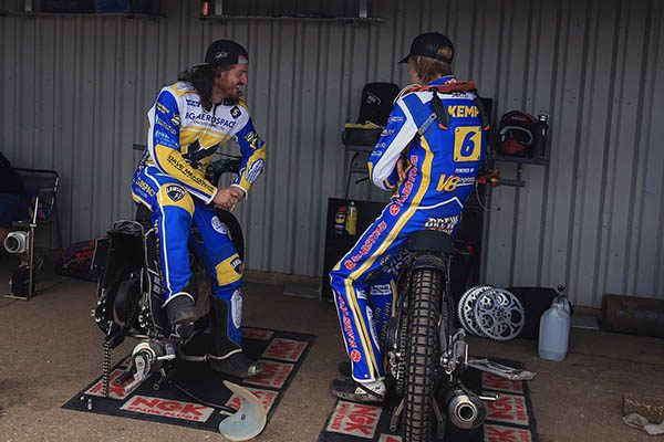 Richard Lawson Drew Kemp Eastbourne Eagles